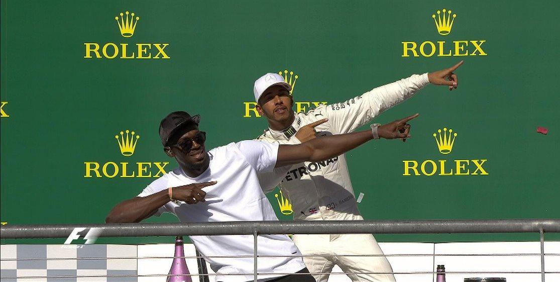 Bolt Lewis Hamilton