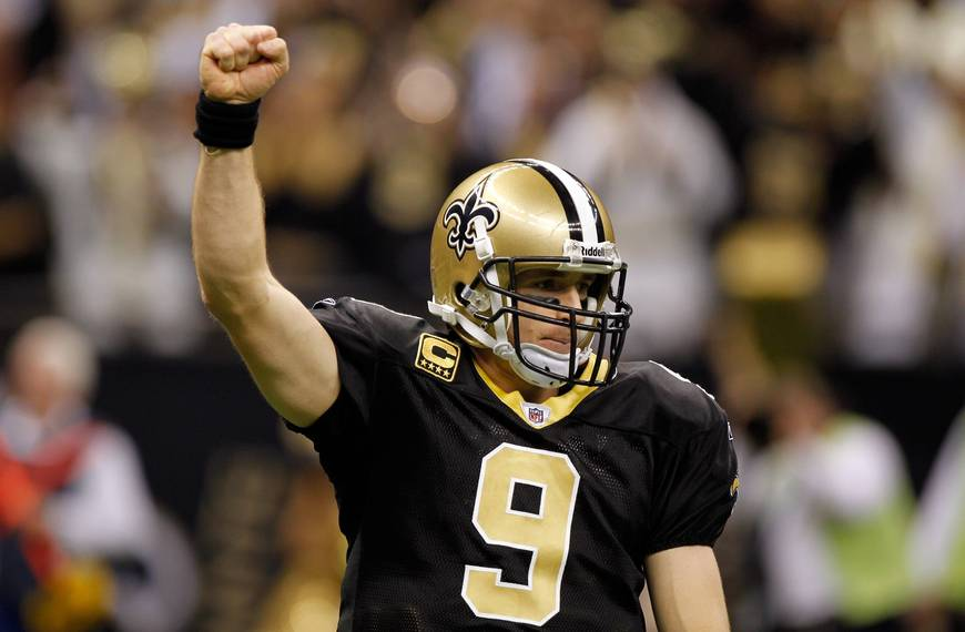 Who dat? It's a Brees for the Saints these days