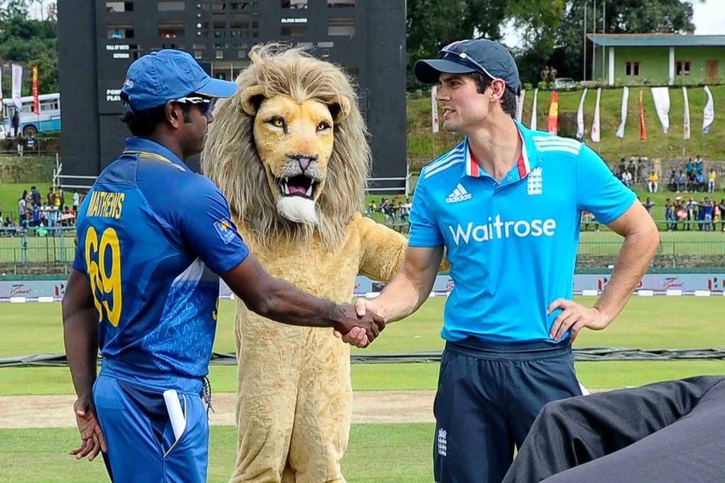 England sri lanka lion