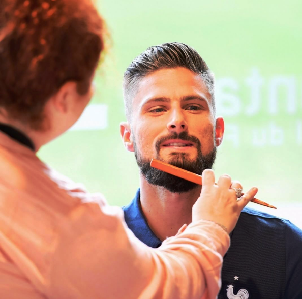 Olivier Giroud press conference