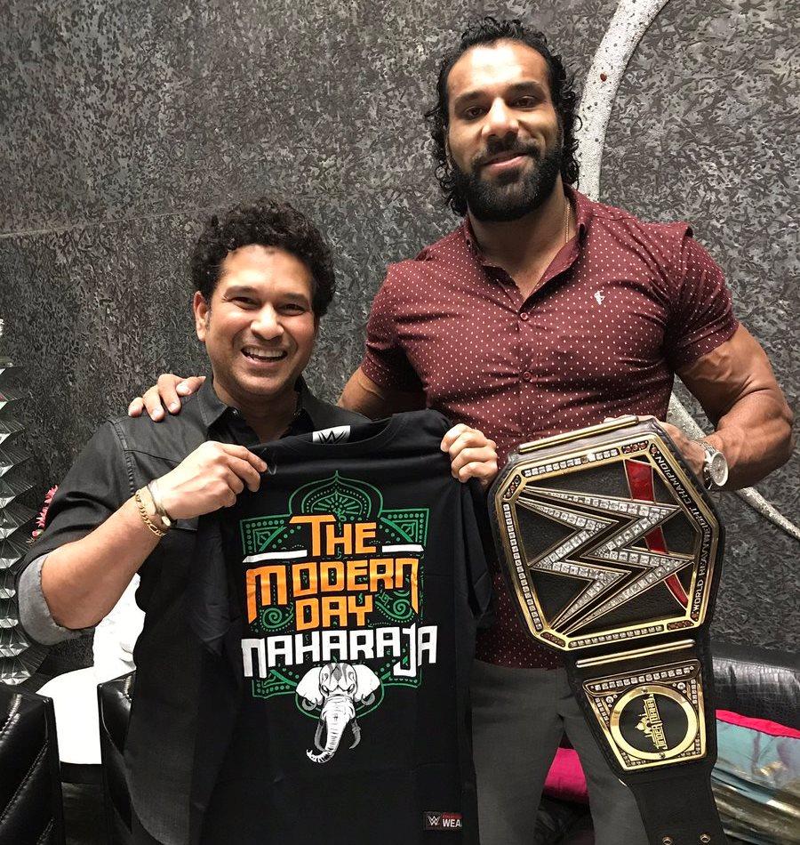 The maharaja WWE Canada