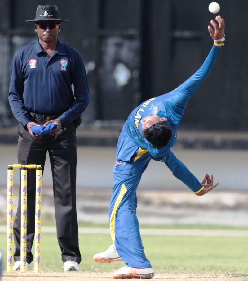 Kevin Koththigoda Sri Lankas new mystery spinner