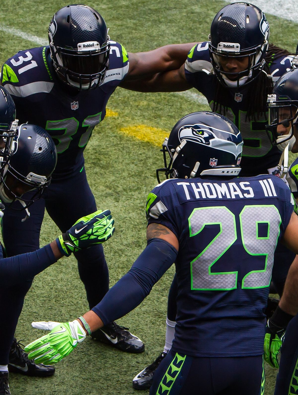 Seattle's Legion of Boom are a tight bunch