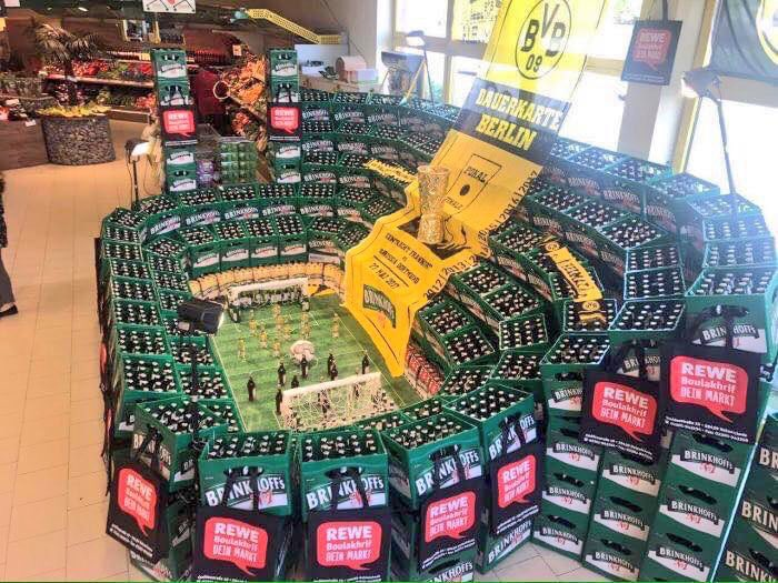 Now there is a supermarket display