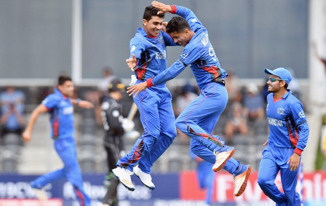 Afghan celebrating