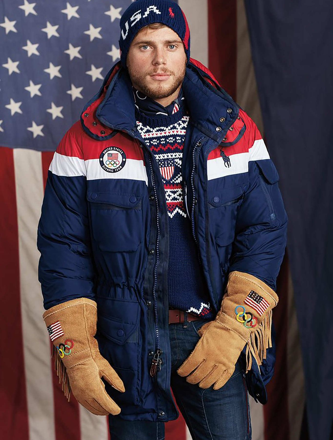 US Olympic team gloves