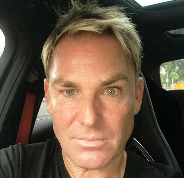 Warnie new haircut