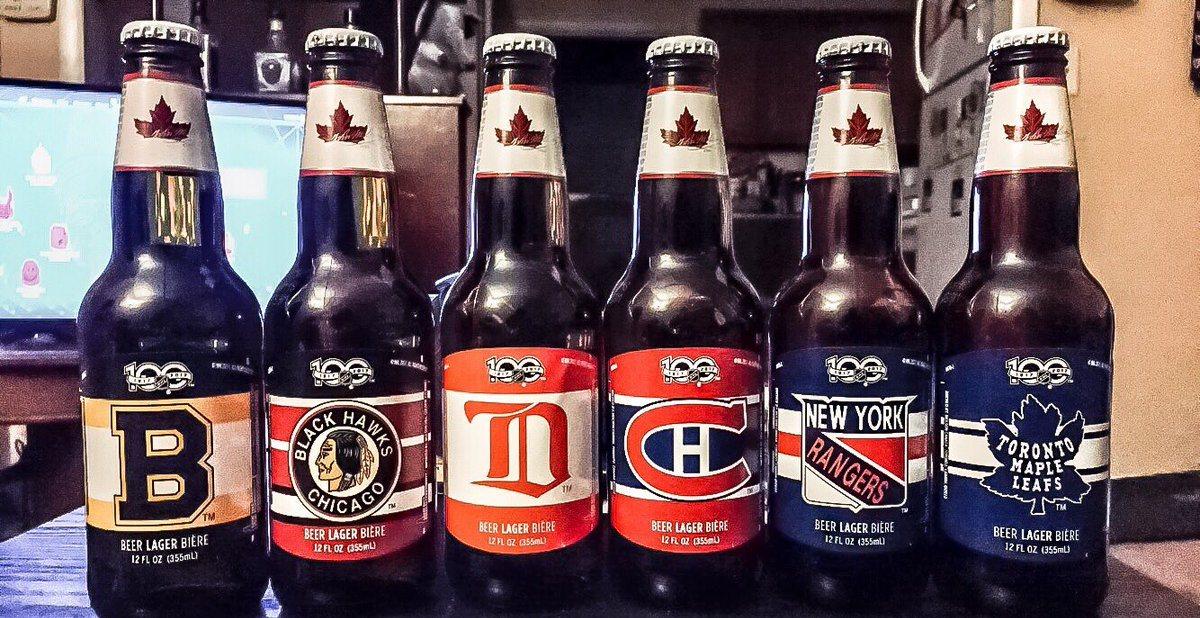 Beers orginal NHL six teams
