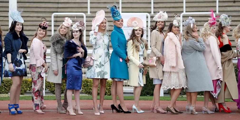 Ladies Day at Cheltenham racecourse