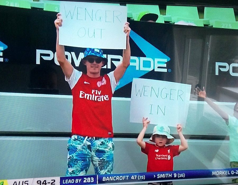 South Africa Wenger out