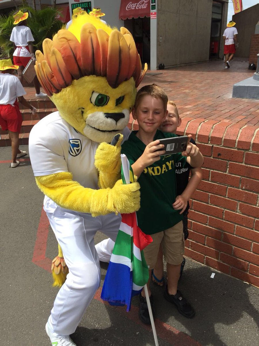 ZAC Cricket SA mascot